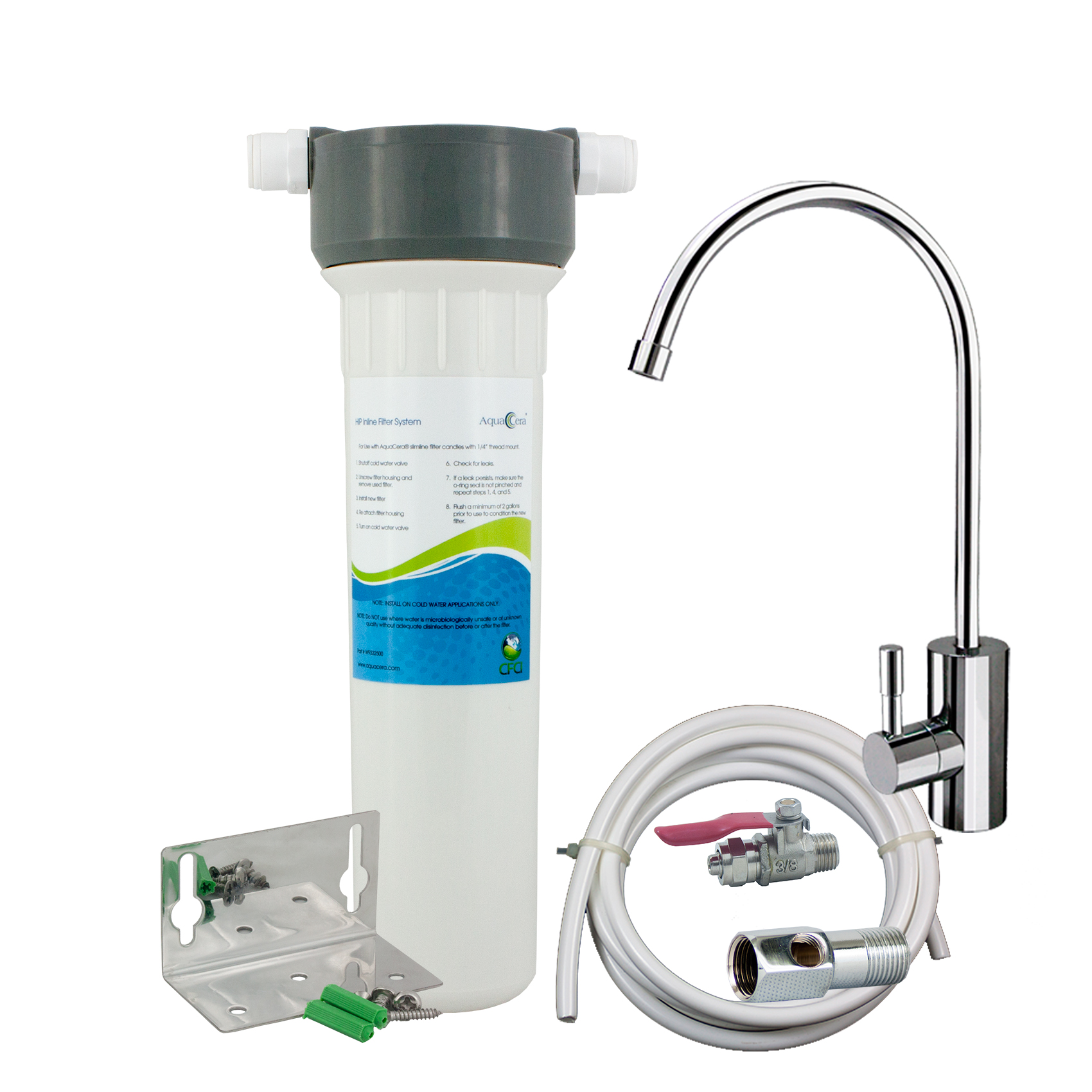 AquaCera φίλτρο νερού κάτω πάγκου
