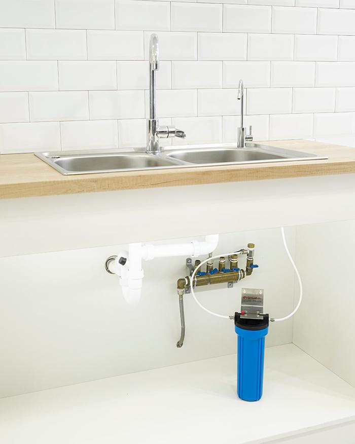 Φίλτρο νερού κάτω πάγκου με ενεργό άνθρακα made in USA Primato Blue GRSKGUC1GB12