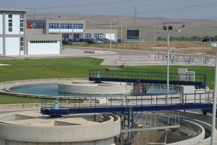 Διυλιστήρια Νερού Θεσσαλονίκης-Δεξαμενή Καθίζησης