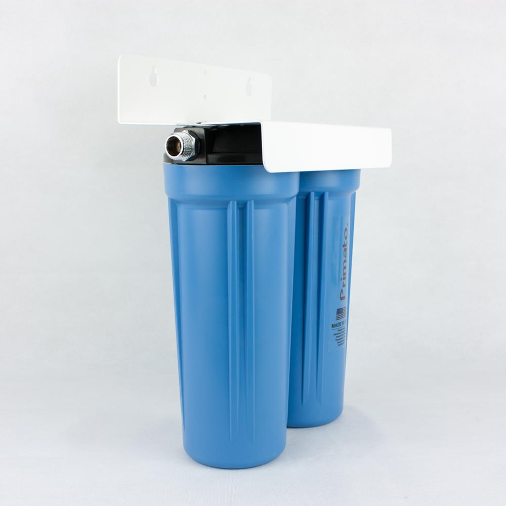 Φίλτρο διπλό κάτω πάγκου Primato Blue 1/2 Duo με ενεργό άνθρακα made in USA