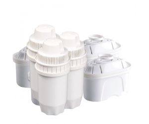 Jug water filter cartridges