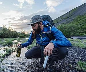 LIFESTRAW® survival water-filter bottles