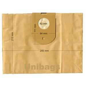 Vacuum Cleaner Paper Bags suitable for HOOVER, ECOCLEAN, FILTERCLEAN, HQ, MALAG, SWIRL  Primato 1410