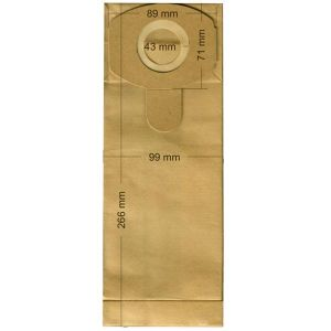 Vacuum Cleaner Paper Bags suitable for HOOVER, ECOCLEAN, FILTERCLEAN, HQ, SWIRL Primato 1477