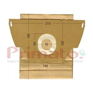 Vacuum Cleaner Paper Bags suitable for Electrelux, Volta, Progress .Primato 1605