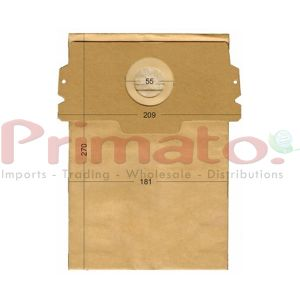 Vacuum Cleaner Paper Bags suitable for AEG, SINGER, CARREFUR, CURTIS Primato 180