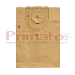 Vacuum Cleaner Paper Bags suitable for DELONGHI, FAKIR, FAM, GOLDSTAR, HOLLAND ELECTRO, AMADIS, Primato:1870