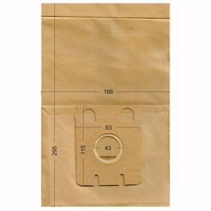 Bolsas de aspiradoras Miele, Ecoclean, HQ, IMPALA, MALAG. Unibags 570