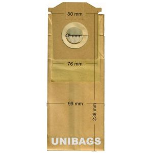 Vacuum Cleaner Paper Bags suitable for BOSCH, SIEMENS, PRIVILEG, QUELLE, SWIRL. Primato 965