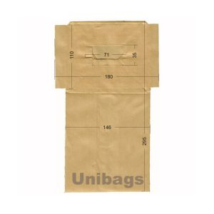 Vacuum Cleaner Paper Bags suitable forPHILIPS, ROTEL, ECOCLEAN. Primato 780