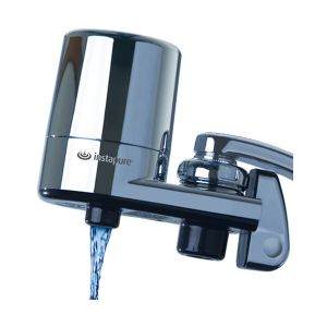 Instapure faucet filter. Inox colour
