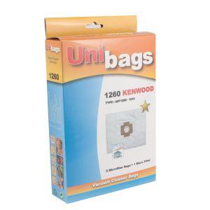 Σακούλες για KENWOOD, ALASKA, ARIETE, CLATRONIC. Unibags 1260D