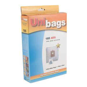 Σακούλες πάνινες για σκούπες AEG, EUROFILTERS, SINGER, HANSEATIC. Unibags 185