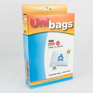 Bolsas de aspiradoras Miele. Unibags 580D