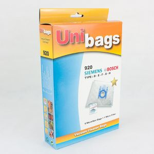 Vacuum Cleaner Bags suitable for Bosch, Siemens. Primato 920D