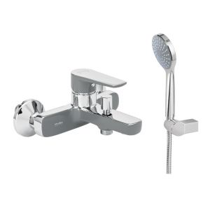 Luxurious bathroom tap MODEA OPTIMA VIVID GREY 00-2532