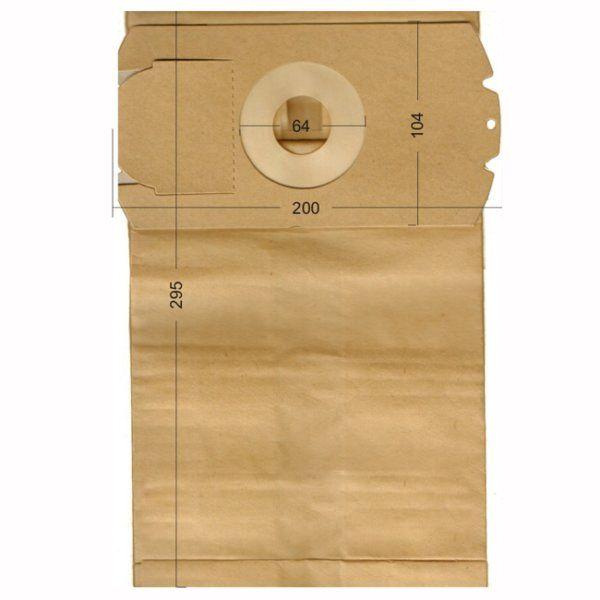 Vacuum Cleaner Paper Bags suitable for Bosch, Fakir, Fam. Primato 1530