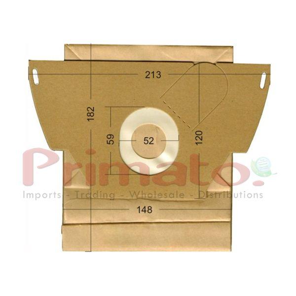 Vacuum Cleaner Paper Bags suitable for Electrelux, Volta, Progress .Primato 1605