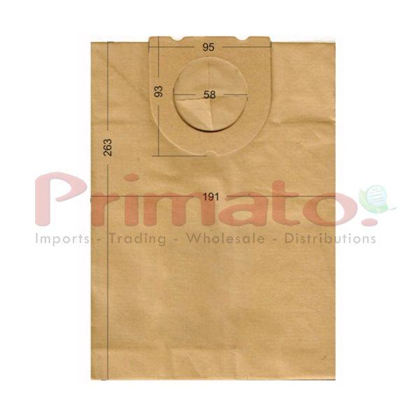 Vacuum Cleaner Paper Bags suitable for DELONGHI, FAKIR, FAM, GOLDSTAR, HOLLAND ELECTRO, AMADIS, Primato:1870