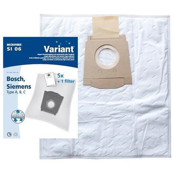 Vacuum Cleaner Bags suitable for Bosch, Siemens. Primato 400V