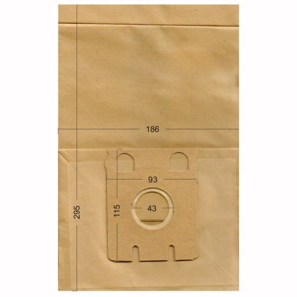 Vacuum Cleaner Paper Bags suitable for Miele, Ecoclean, HQ, IMPALA, MALAG. Primato 570