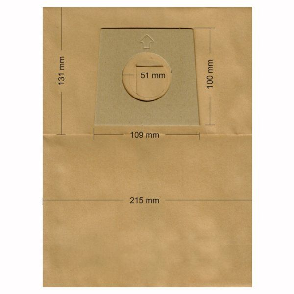 Vacuum Cleaner Paper Bags suitable for BOSCH, SIEMENS, ARCELIC, AZUKA, and others  Primato 900