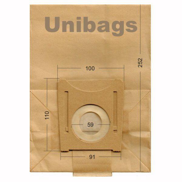 Vacuum Cleaner Paper Bags suitable for Bosch, Siemens. Primato 925