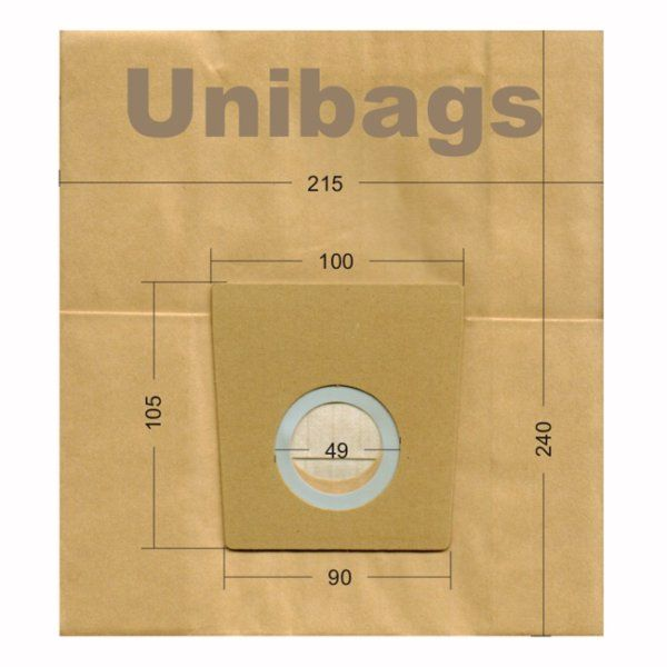 Vacuum Cleaner Paper Bags suitable for Bosch, Siemens. Primato 940
