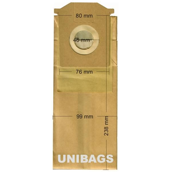 Vacuum Cleaner Paper Bags suitable for BOSCH, SIEMENS, PRIVILEG, QUELLE, SWIRL. Primato 965
