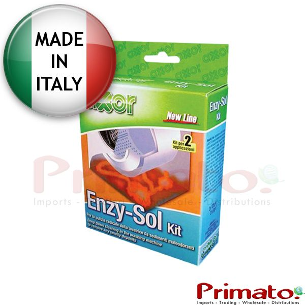 Enzy-Sol Kit. Deep cleaner of washing machines. Code: DS004