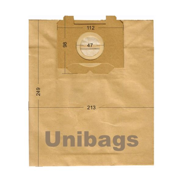Bolsas de aspiradoras VOLTA, AEG, BLUESKY, ELECTROLUX. Unibags 195