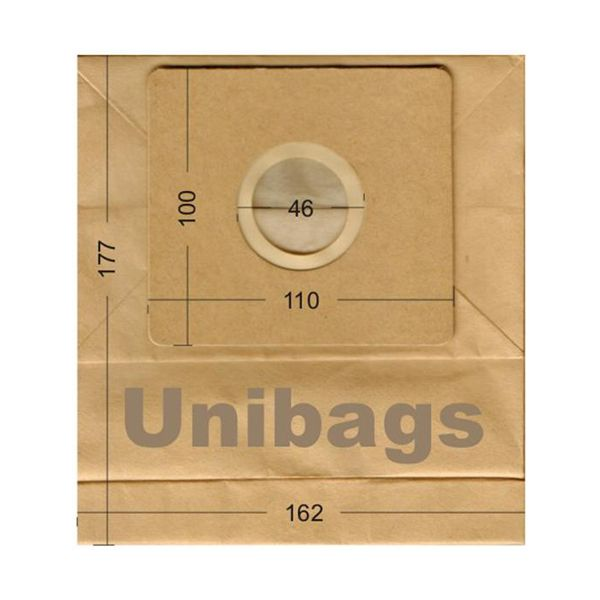 Vacuum Cleaner Paper Bags suitable for ARIETE, DELONGHI, ROHNSON, SAMSUNG. Primato 1335