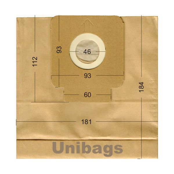 Vacuum Cleaner Paper Bags suitable for HOOVER, CELECT, HQ. Primato 1478