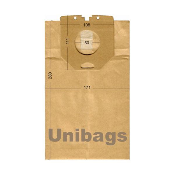 Vacuum Cleaner Paper Bags suitable for PHILIPS, CLATRONIC, BOMANN. Primato 1710