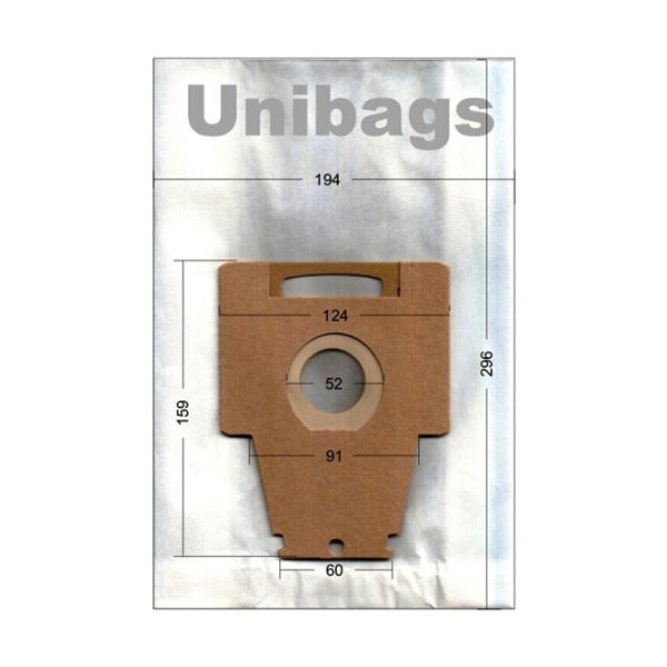 Vacuum Cleaner Bags for Bosch Siemens. Primato 960