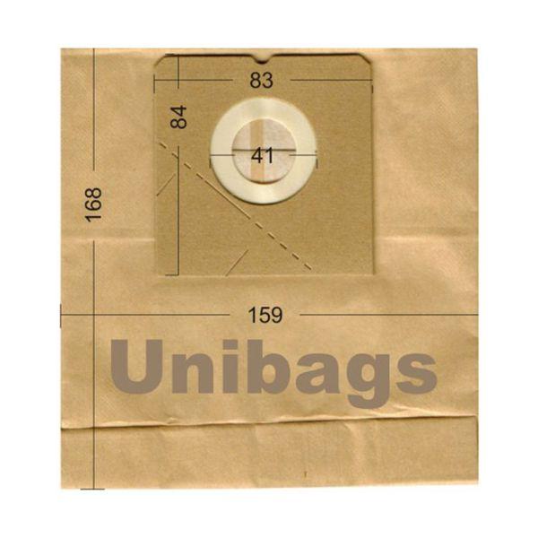 Vacuum Cleaner Paper Bags suitable for HOOVER, MOULINEX, ROWENTA, AEG. Primato 1255