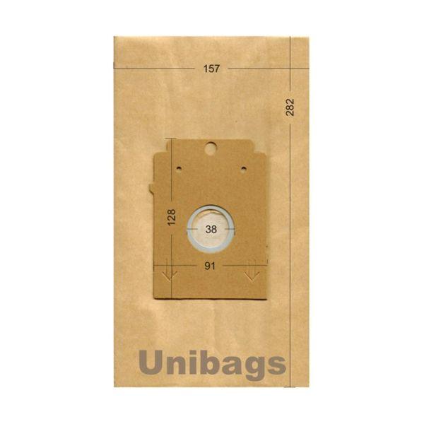 Bolsas de aspiradoras  BOSCH, SIEMENS, EASYCLEAN, HQ. Unibags 955