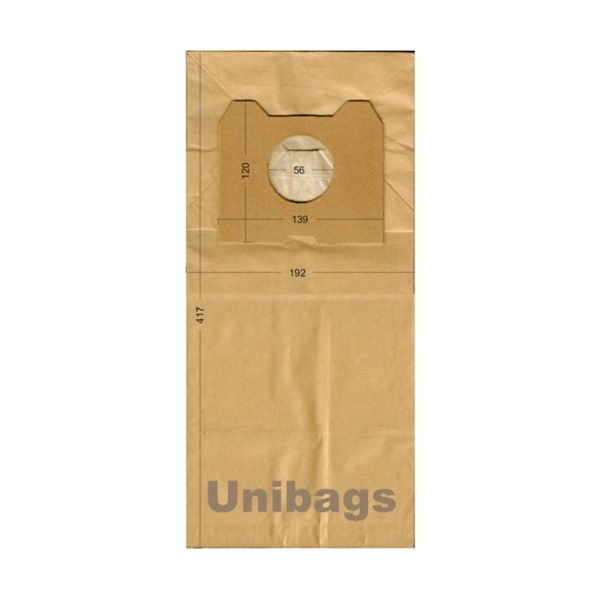 Vacuum Cleaner Paper Bags suitable for PHILIPS, ECOCLEAN, FILTERCLEAN, HQ. Primato 1730