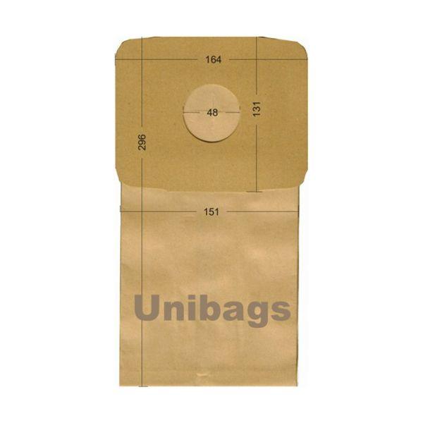 Bolsas de aspiradoras  BOSCH, ROWENTA, SIEMENS, ARCELIC. Unibags 440