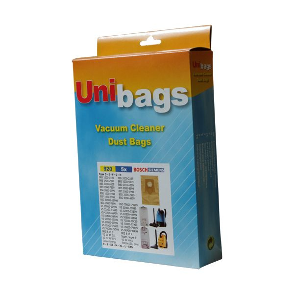 5 Vacuum Cleaner Paper Bags + Filter