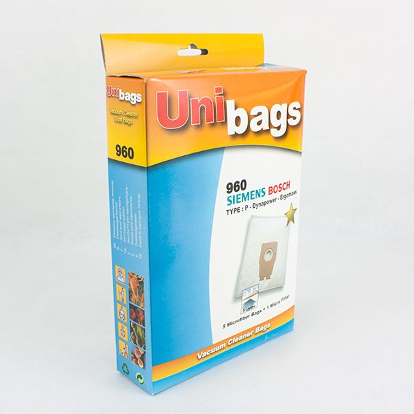 Vacuum Cleaner Bags suitable for Bosch Siemens. Primato 960D