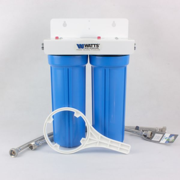 Double water filter with coconut carbon block - WATTS 1/2 DUO