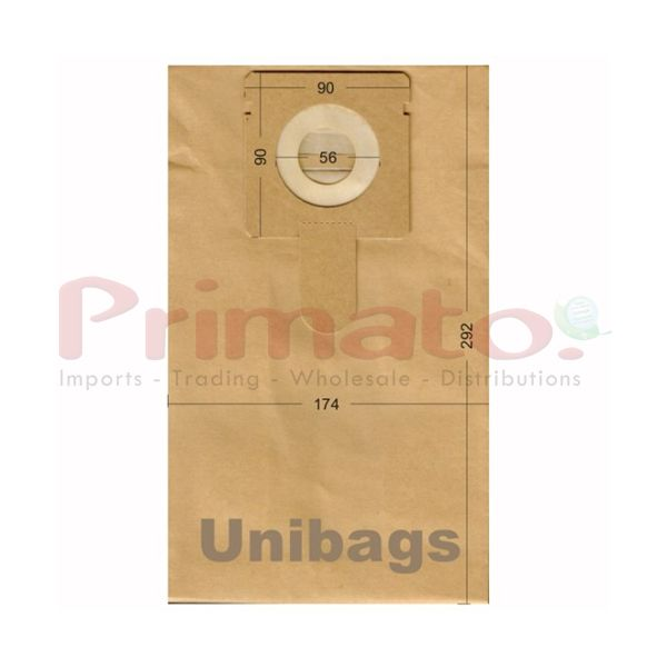 Vacuum Cleaner Paper Bags suitable for Bluesky, Delonghi, Fakir Primato 1990