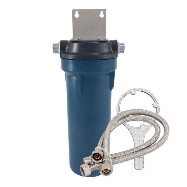 Under the counter water filter with Carbon Block - made in USA