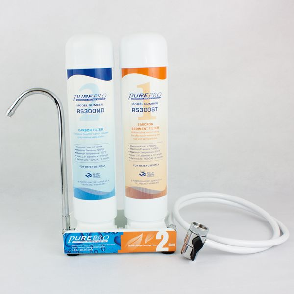 Double water filter with Quick Change system. Pure Pro CT2000