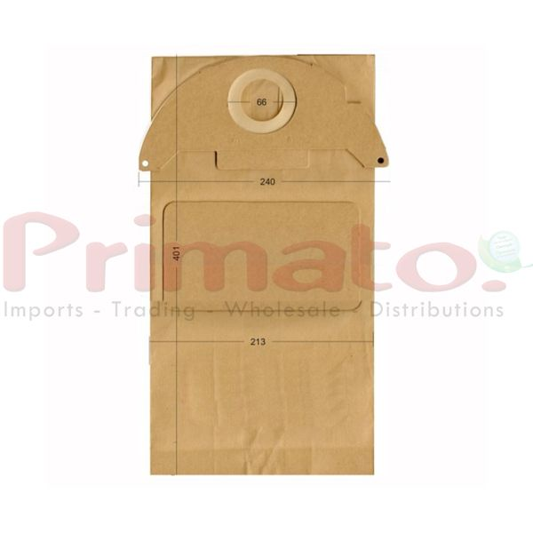 Vacuum Cleaner Paper Bags suitable for Karcher, Swirl, Ecoclean. Primato 1280