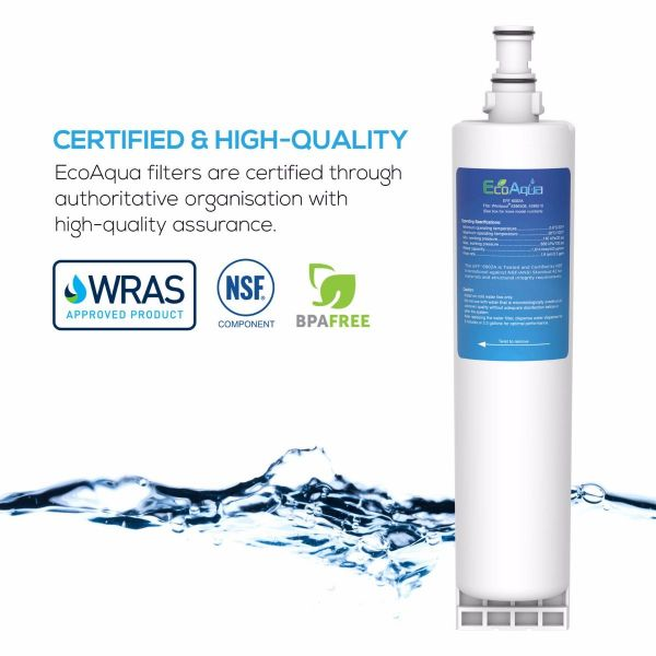 Compatible refrigerator water filter for Whirlpool, KitchenAid, Kenmore, Smeg and others - Primato EFF-6002A