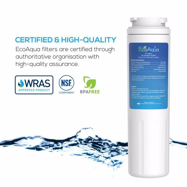 Compatible refrigerator water filter for Maytag, Amana, KitchenAid, Sears, Kenmore - Primato EFF-6007A