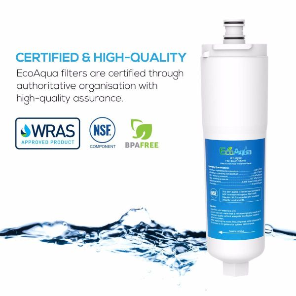 Filtro de agua de refrigerador compatible para BOSCH, 3M, CUNO, WHIRLPOOL, NEFF - Primato EFF-6026B