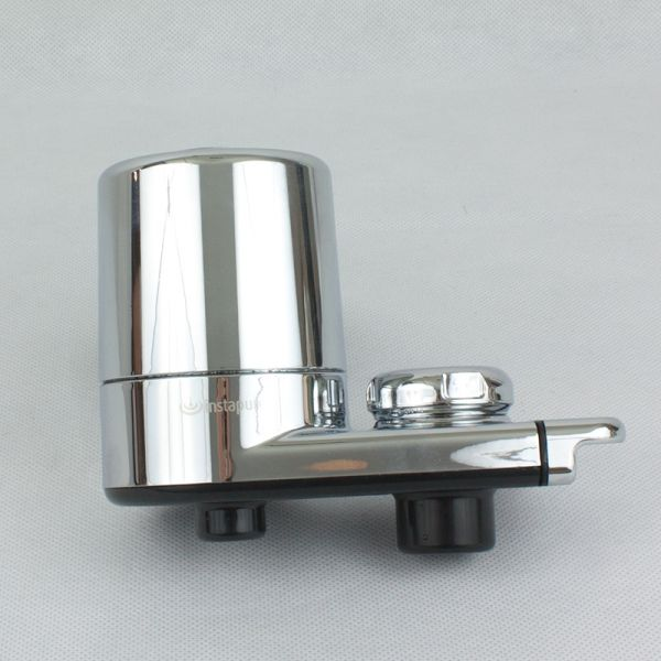 Instapure chrome water faucet filter